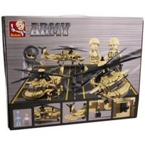 Sluban - ArmÉE - Utility Helicopter 439 Pieces