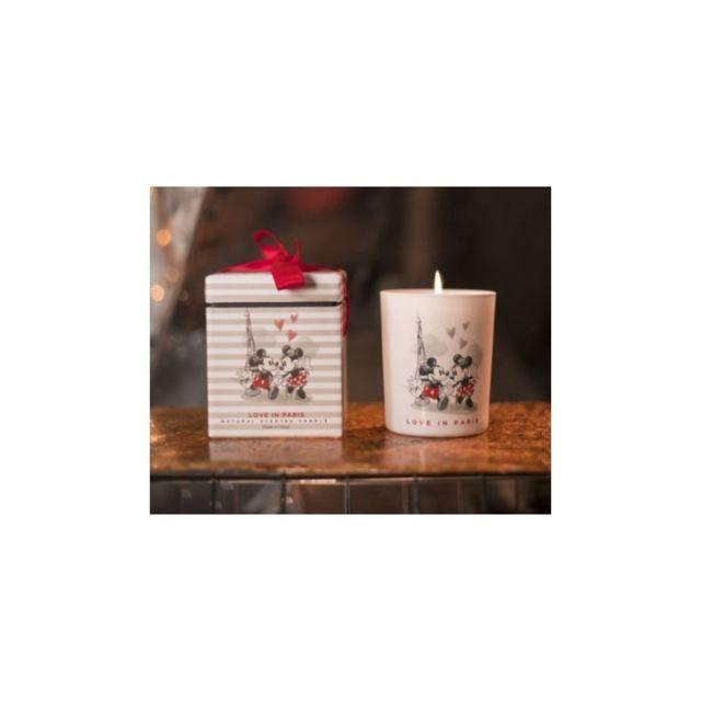 disney bougie parfum e mickey et minnie love in paris pas cher achat vente bougies. Black Bedroom Furniture Sets. Home Design Ideas