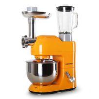 KLARSTEIN - Lucia Orangina Robot de cuisine Pétrin Mixeur Hachoir - orange