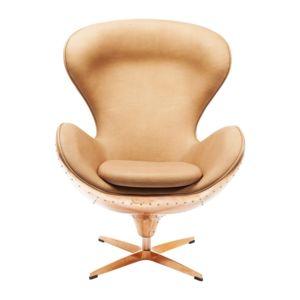 Karedesign Fauteuil Pivotant Big Boss Cuivre Kare Design Pas - Fauteuil pivotant design pas cher