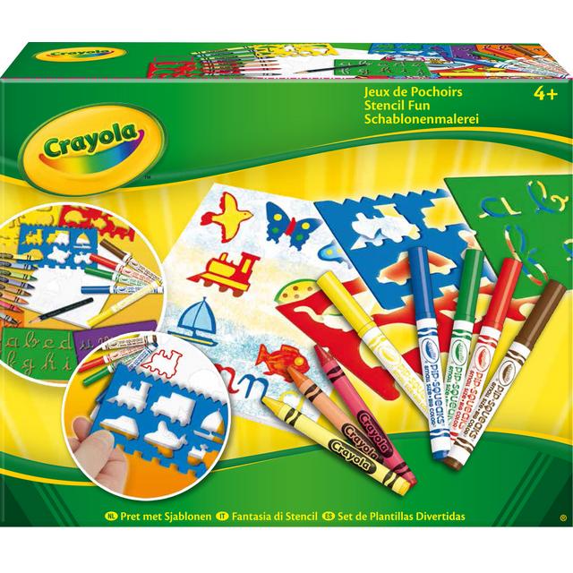 Crayola - Jeux de pochoirs - 531000