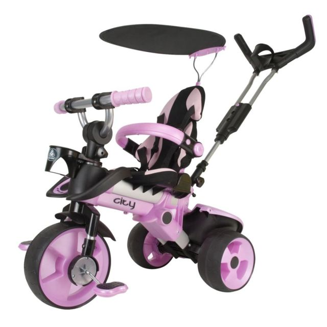 Injusa Tricycle City rose 3262