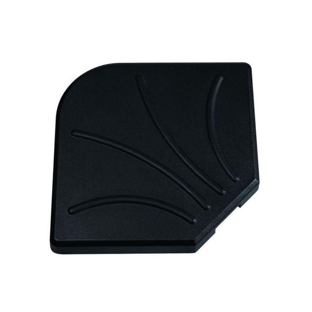 hesperide dalle pour parasol d port 15 kg noir pas. Black Bedroom Furniture Sets. Home Design Ideas