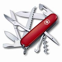 Victorinox - Couteau suisse 15 fonctions rouge - Huntsman