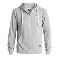Dc - Sweat Core Zip Print Heather Grey - Shoes