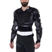 Ixs - Assault - Veste protection homme - Noir/Marron
