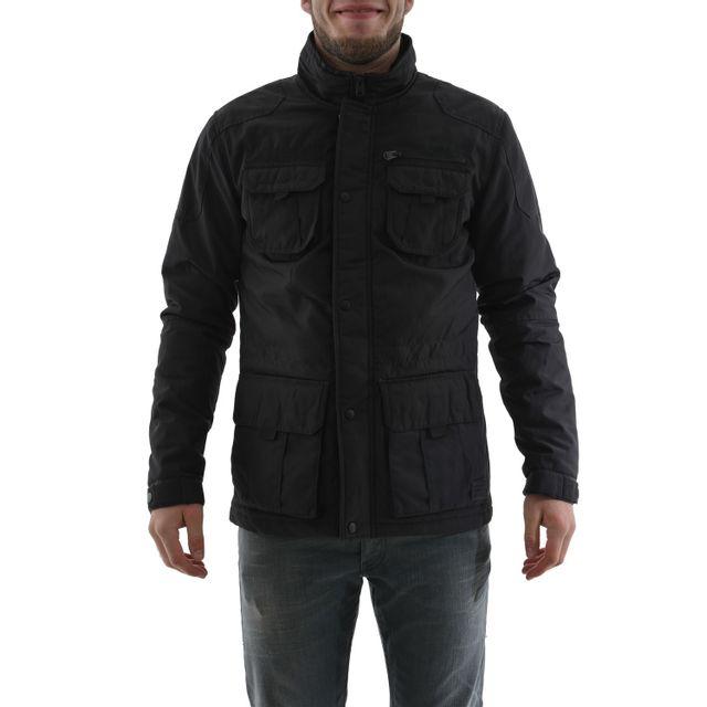 style attrayant grande qualité plus grand choix de blousons et vestes Jack And Jones pedro noir