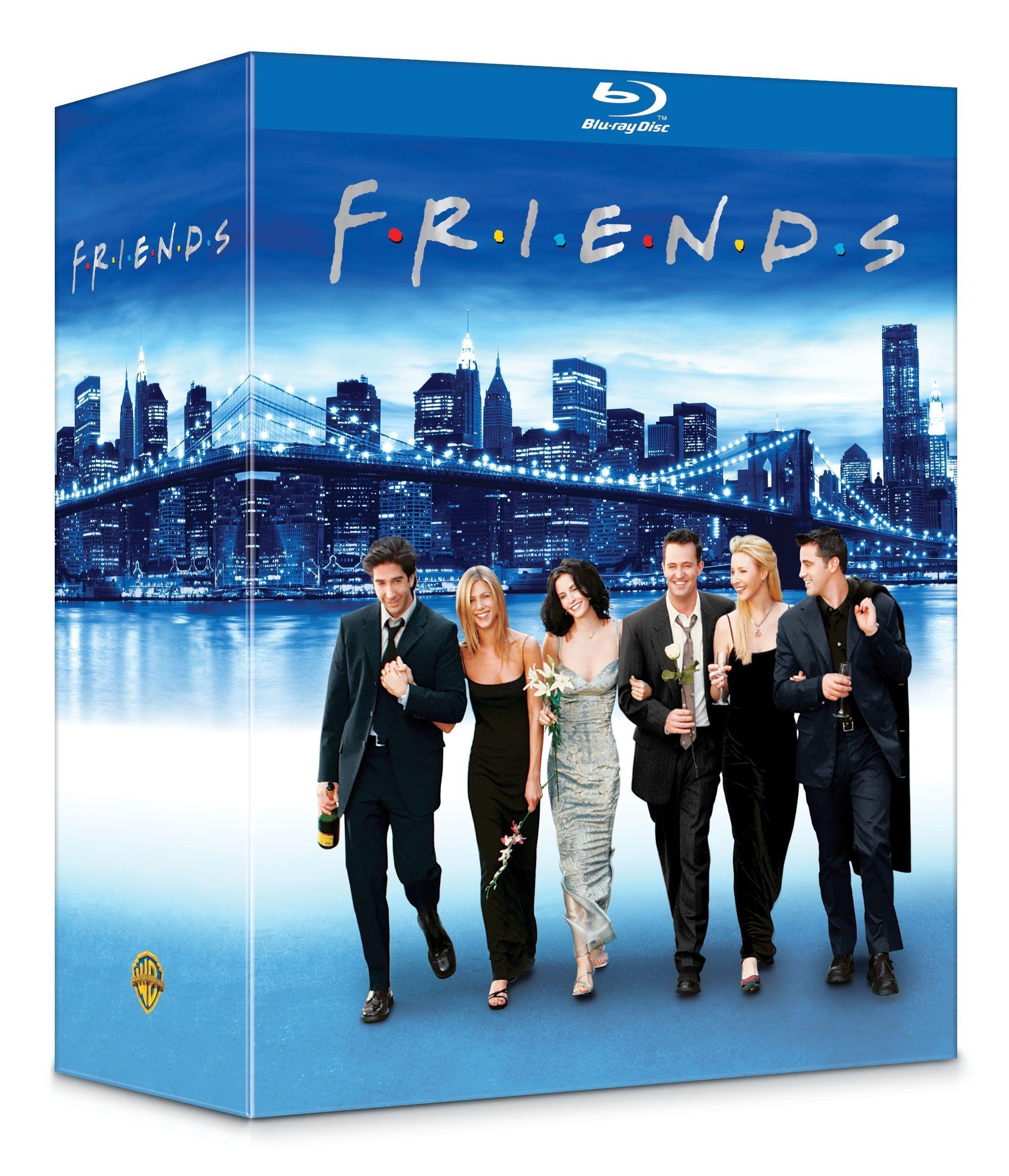 Coffret Blu-ray Friends l'intégrale saisons 1-10
