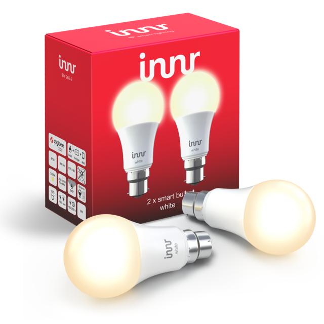 INNR - Ampoule connectée B22 - ZigBee 3.0 - Blanc chaud -...
