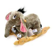No Name - Jumbo, l'éléphant à bascule Fonction bascule ou roulettes