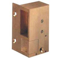 Beugnot - Gache Electrique En Bronze - En Applique N?1 Pour Serrure Horizontale - Sens:G impulsion