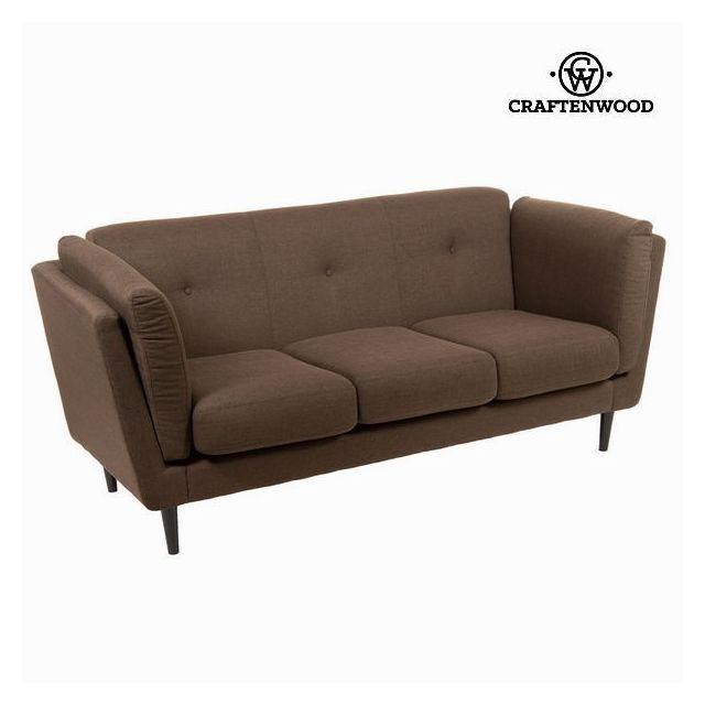 canap tissu marron. Black Bedroom Furniture Sets. Home Design Ideas