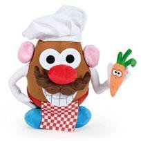 Famosa - Mr Patate Cuisinier - Peluche de 25 cm - Enfant