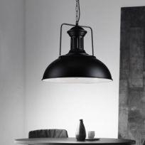 Suspendue Couvercle Suspension Luminaire Cache Blanc Ampoule E27 Noire Lampe Salon Pour Pot Avec Froid TK1cJ3ul5F