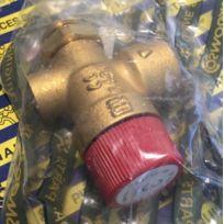Cosmogas - 61205012 - Vanne sécurité De 1/2 P + anneau 3 Bar