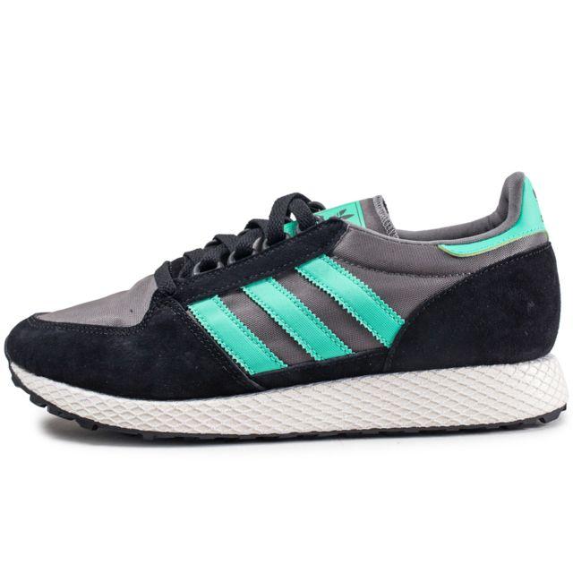 chaussures adidas verte homme