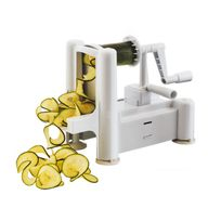 Louis Tellier - bron coucke - n6999 - coupe légumes et fruits spiral 3en1 Turning Slicer