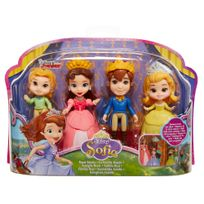 DISNEY - Famille royale Sofia - mini figurines 8cm - 01257