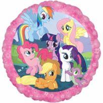 My Little Pony - Mon Petit Poney Ballon Foil Rond VENDU Non GonflÉ