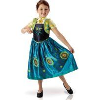 Rubies - Déguisement Anna - Un anniversaire Givrée - Frozen - La Reine Des Neiges - Taille : 3-4 ans 94 à 108 cm