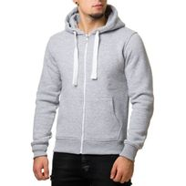 Rerock - Veste capuche gris clair