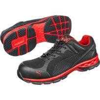 quality design 7925f d7afd Puma - Basket de sécurité basse Fuse Motion 2.0 Red Low S1P Esd Hro Src
