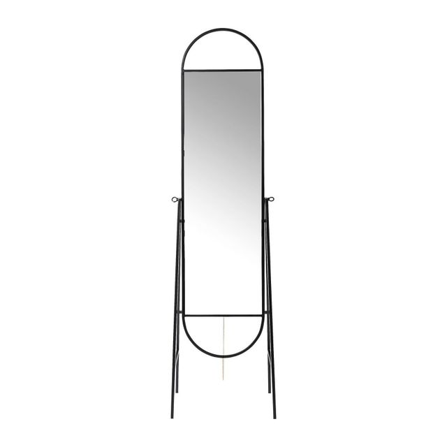 Karedesign Miroir sur pied Casino noir Kare Design