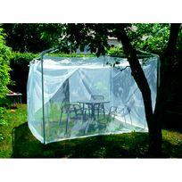 Brettschneider - Moustiquaire Lodge Terrazzo - Accessoire tente - blanc