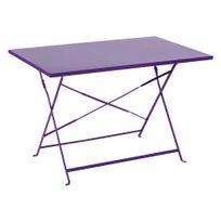 Table de jardin métal - Achat Table de jardin métal pas cher - Rue ...