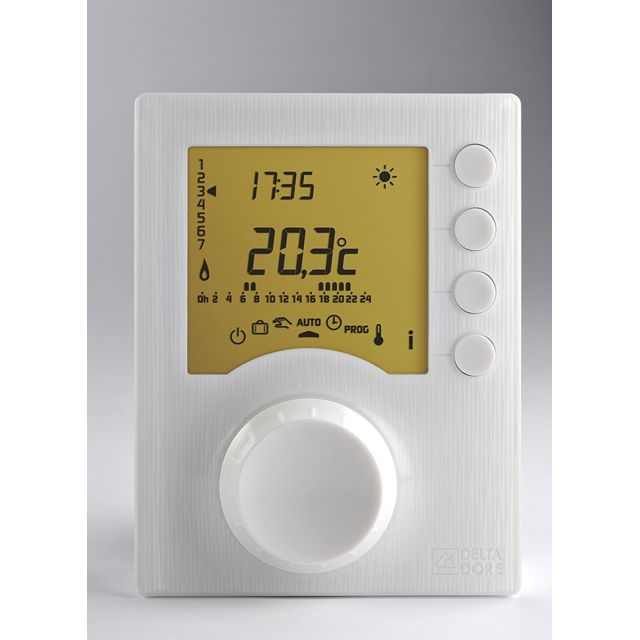 delta dore thermostat tybox 117 6053005 pas cher achat vente thermostat rueducommerce. Black Bedroom Furniture Sets. Home Design Ideas