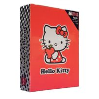 Marque Generique - Album photo Disney Hello Kitty 100 photos enfant à pochette rouge