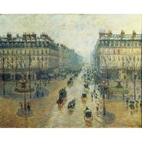 Editions Ricordi - Puzzle 1500 pièces : Avenue de l'Opéra à Paris, Camille Pissarro
