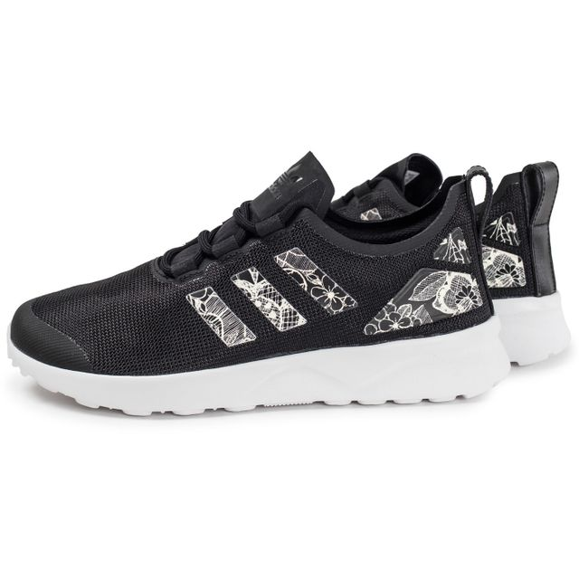 design intemporel e2693 8680e Adidas originals - Zx Flux Adv W Print Noir Et Blanc - pas ...