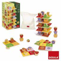 Goula - Tour de fruits : Jeu d'adresse et loto
