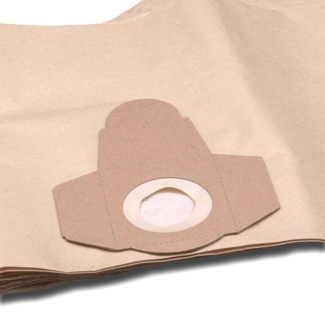 vhbw 5 x sac paper pour aspirateur robot aspirateur multi-usages Einhell TC-VC 1812 S