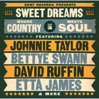 Ace Records - Compilation - Sweet dreams : Where country meets soul Vol. 2 Boitier cristal
