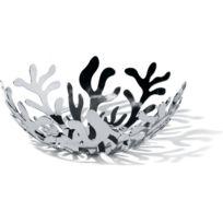 Declikdeco - Corbeille à fruits argentée en acier Luna