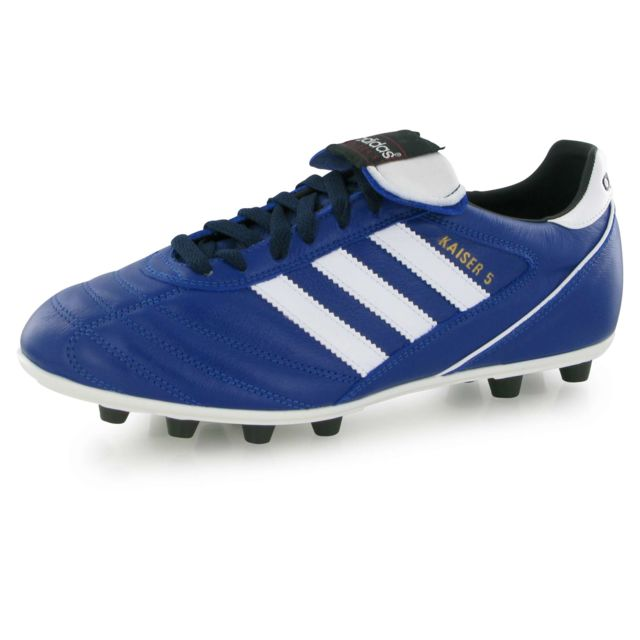 38ccc14e8e11f Adidas - Kaiser 5 Liga bleu, chaussures de football homme - pas cher Achat    Vente Chaussures foot - RueDuCommerce