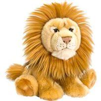 Aucune - Peluche Lion allonge 33 cm