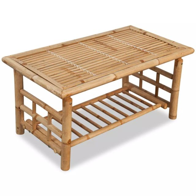 Table basse Chic cm collection Bambou 50 45 Lilongwe x Consoles x 90 u1cFlK3TJ