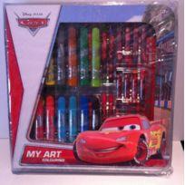 Vamos - 0005488 - Kit De Loisirs CrÉATIFS - Set De Coloriage - Cars - 25X25X3,5 Cm