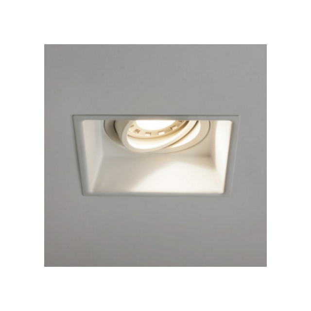 Astro Spot encastrable inclinable carré Minima - Blanc