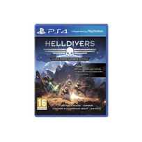 SONY - Jeu PS4 Helldivers : Super-Earth Ultimate Edition
