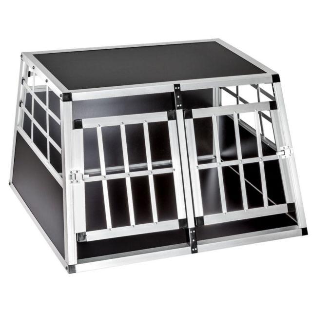 helloshop26 cage box caisse de transport chien mobile. Black Bedroom Furniture Sets. Home Design Ideas
