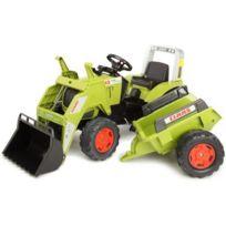 Falk - Vélo et Véhicule pour Enfant Tracteur Claas Ares + Pelle + Remorque Gm