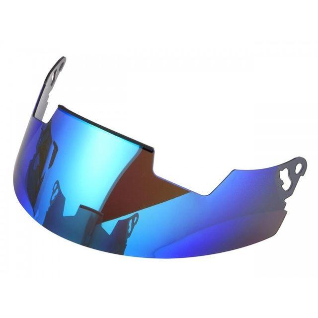 Wacox - Ecran Pare-Soleil Arai Pro Shade Iridium Bleu Casques Rx7 Gp/Quantum/Quantum-St/Quantum-St Pro/Rebel/Chaser-V/Chaser-V Pro/Axces