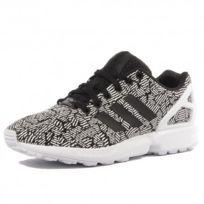 Adidas originals - Zx Flux Femme Chaussures Blanc Noir Adidas