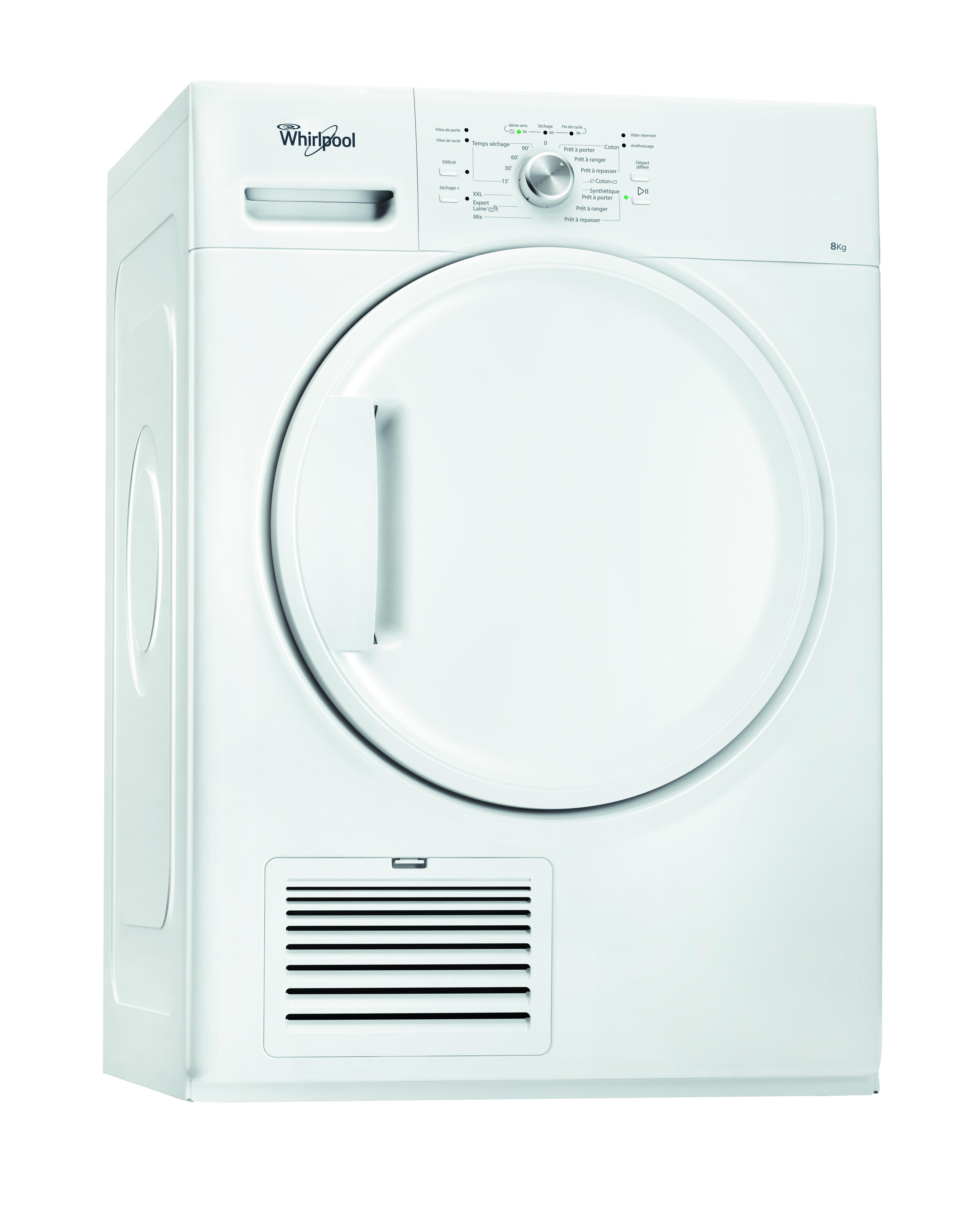 sèche-linge whirlpool - achat sèche-linge whirlpool pas cher - rue
