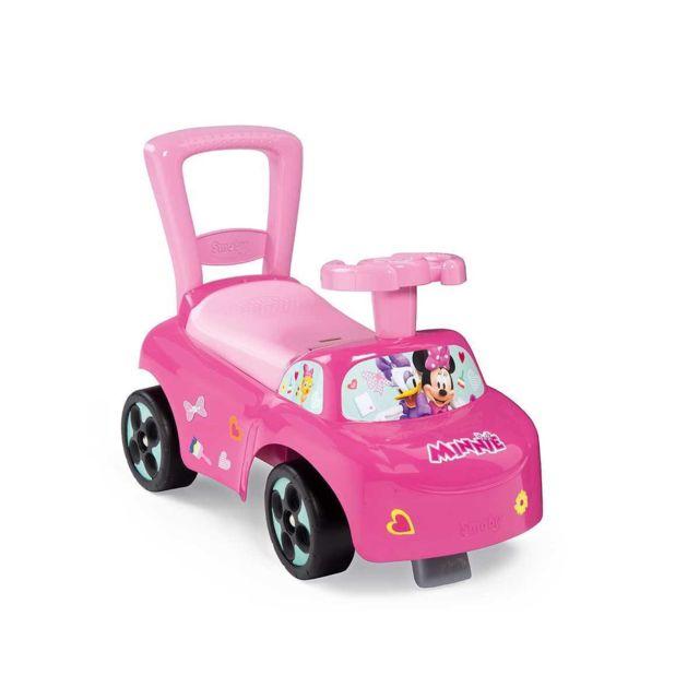 8dc12a38f52 SMOBY - Porteur bébé Auto Minnie - pas cher Achat   Vente Chevaux à bascule