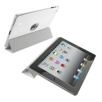 Yonis - Smart cover new iPad 3 housse coque sticker blanc 9.7